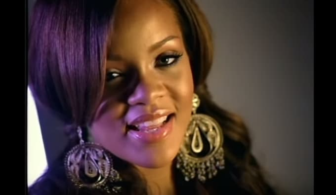 Rihanna In Pon De Replay Video