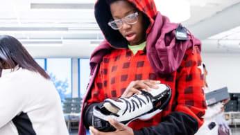 LeBron James I Promise School Sneakers (2)