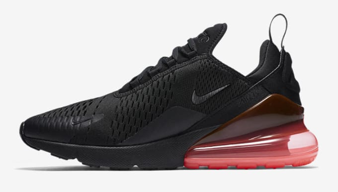 Nike Air Max 270 'Black/Hot Punch'