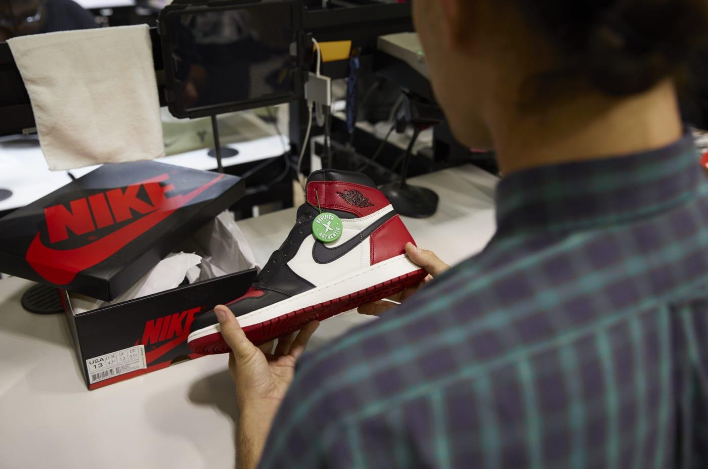 StockX Air Jordan Authentication