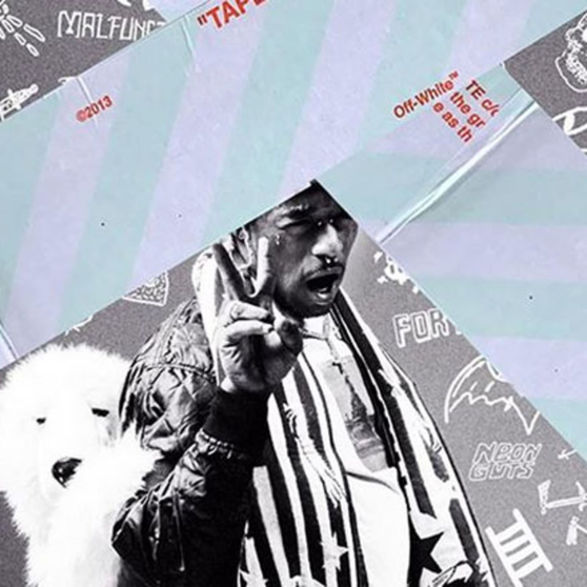 The cover for Lil Uzi Vert's 'Luv Is Rage 2'