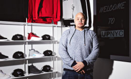 Fat Joe Sneaker Store UP NYC