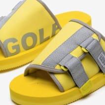 Golf Wang x Suicoke KAW-CAB 'Lemon Yellow' (Pair)