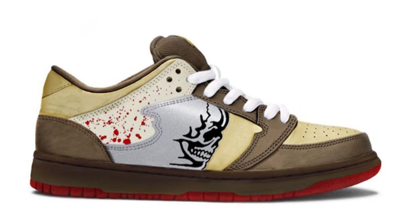 Warren Lotas Reaper Chainsaw Nike Dunk Lookalike