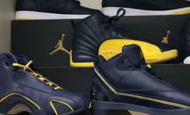 Michigan Wolverines Air Jordan Set