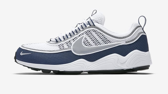"Nike Air Zoom Spiridon ""White/Light Midnight"""