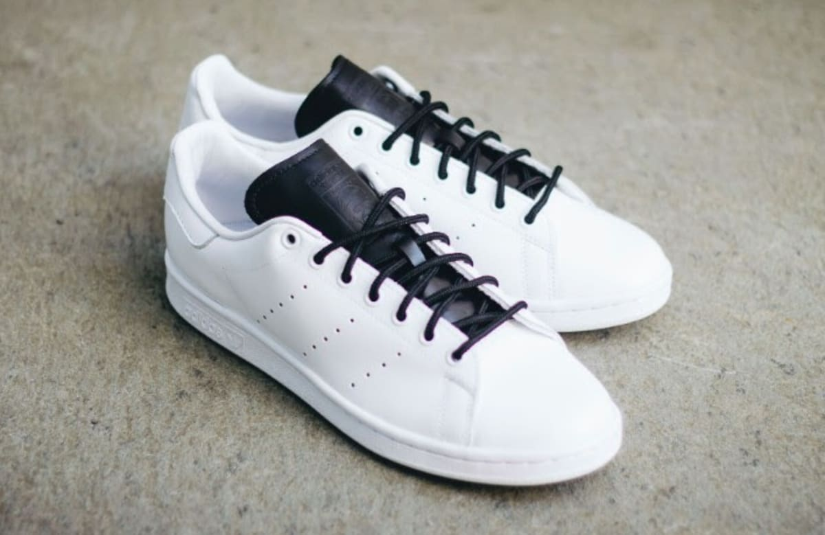 adidas stan smith white black s80019 complex. Black Bedroom Furniture Sets. Home Design Ideas