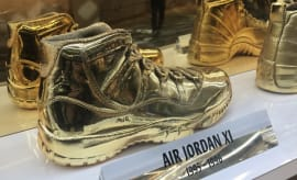 Gold Air Jordan Collection All-Star