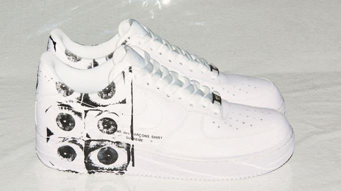 Supreme Comme des Garcons Nike Air Force 1
