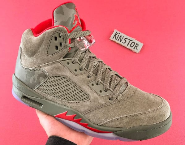 "Air Jordan V ""Dark Stucco Camo"""