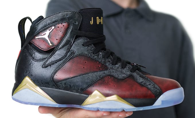 Air Jordan 7 Doernbecher by Damien Phillips Release Date In-Hand