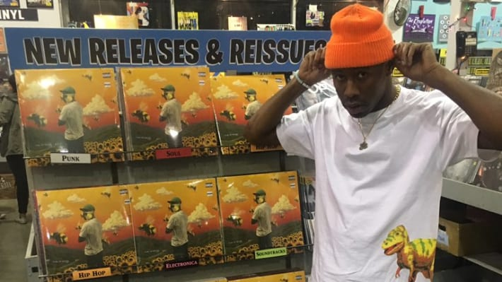 Tyler, The Creator Buys His First Pair of Air Jordans
