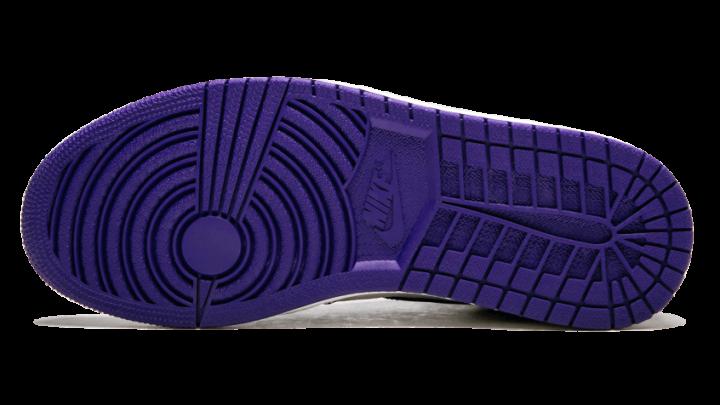 e835a0b2c6d Air Jordan 1 High 'Court Purple' Outsole