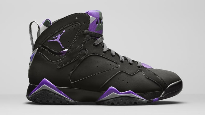 6be3f104cc19 Air Jordan 7 Reteo Ray Allen PE AT3375-200 Lateral