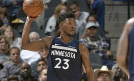 Jimmy Butler Air Jordan 10 Wolves PE