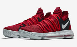 Nike KD 10 University Red Black Release Date Main 897816-600
