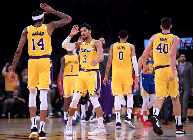 Lakers Reportedly Trying to Land Second Superstar Before Trade ... 257411cd1