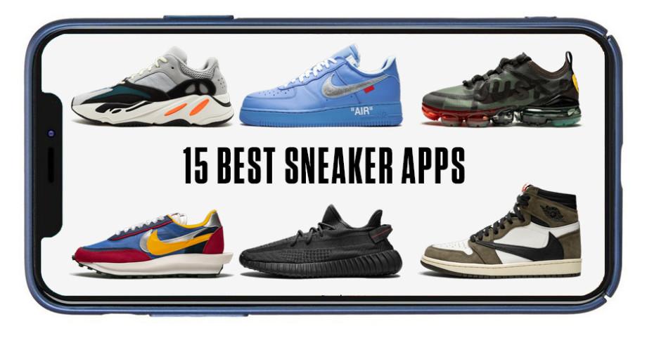 15 Best Sneaker Apps