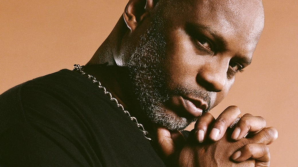 DMX poses for Complex interview shoot