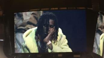 young thug walks in yeezy season 3