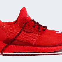 Pharrell x Adidas Solar Hu Glide 'Red/Power Red/Running White' EF2381 (Lateral)