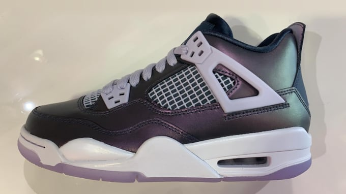 32bc47d94ec90e Air Jordan 4  Monsoon Blue . Image via oregonsole