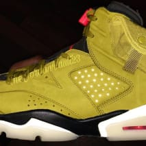 Travis Scott x Air Jordan 6 Mustard Release Date Profile