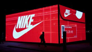 Nike SNKRS box digital display