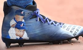 Delino DeShields Father's Day Cleats Profile