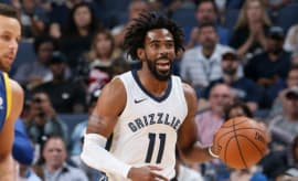 Mike Conley Air Jordan 32 Navy Blue Grizzlies PE