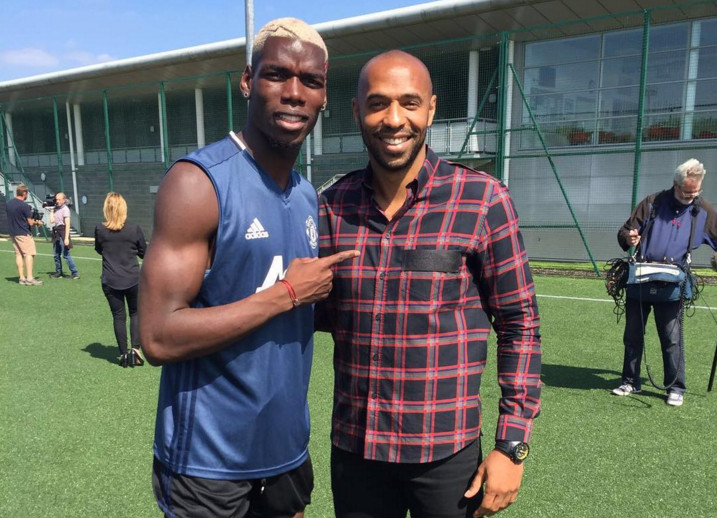Pogba and Henry