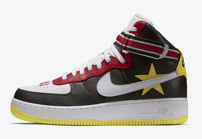 buy popular 3e75f 99620 Riccardo Tisci x Nike Air Force 1 High  Victorious Minotaurs