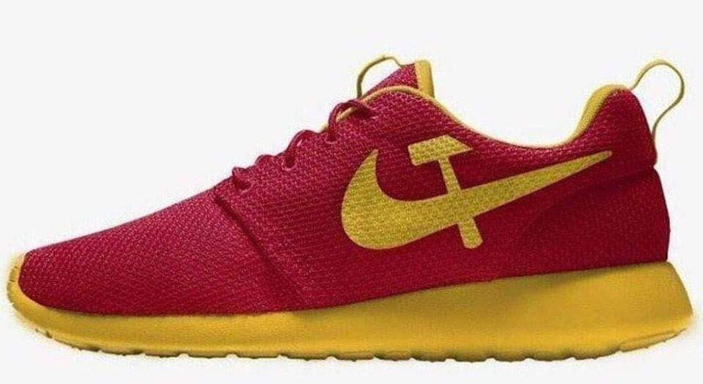Don Jr trolls Nike with photo of Soviet