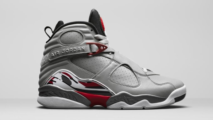 sports shoes b0daf 881cc Air Jordan 8 Retro  Reflections of a Champion  CI4073-001 Lateral