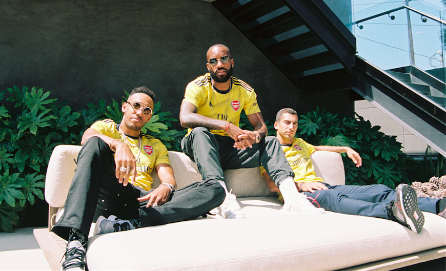 Aubameyang, Lacazette and Mkhitaryan Open Up on New adidas Drip, Lethal Link Up Play and Life in London