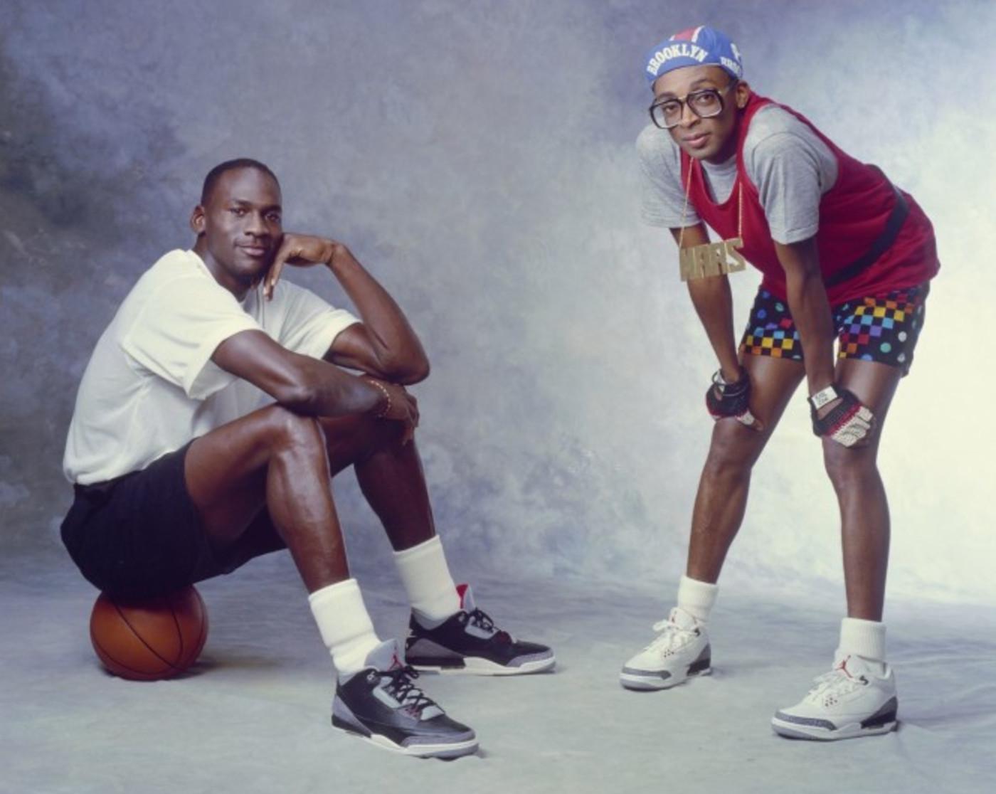 Michael Jordan and Mars Blackmon