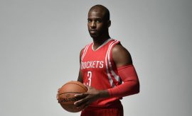 Chris Paul Rockets Jersey Air Jordan 11 PE (3)