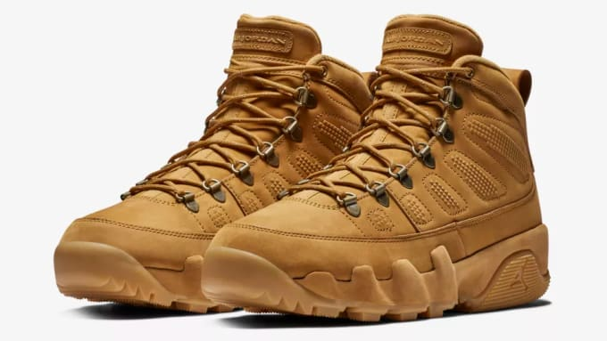 new style 8dab1 ce9e5 inexpensive new air jordan 9 black wheat blue shoes f2270 2d2f7  reduced air  jordan ix boot wheat 6e3cf 2cc17