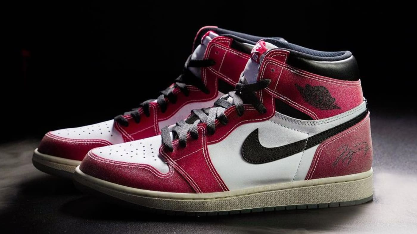 Trophy Room x Air Jordan 1 Backdoor Allegations and Blue Laces ...