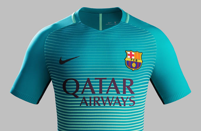41b3c714c Nike s New Third Kit for Barcelona Is Made Entirely from Recycled ...