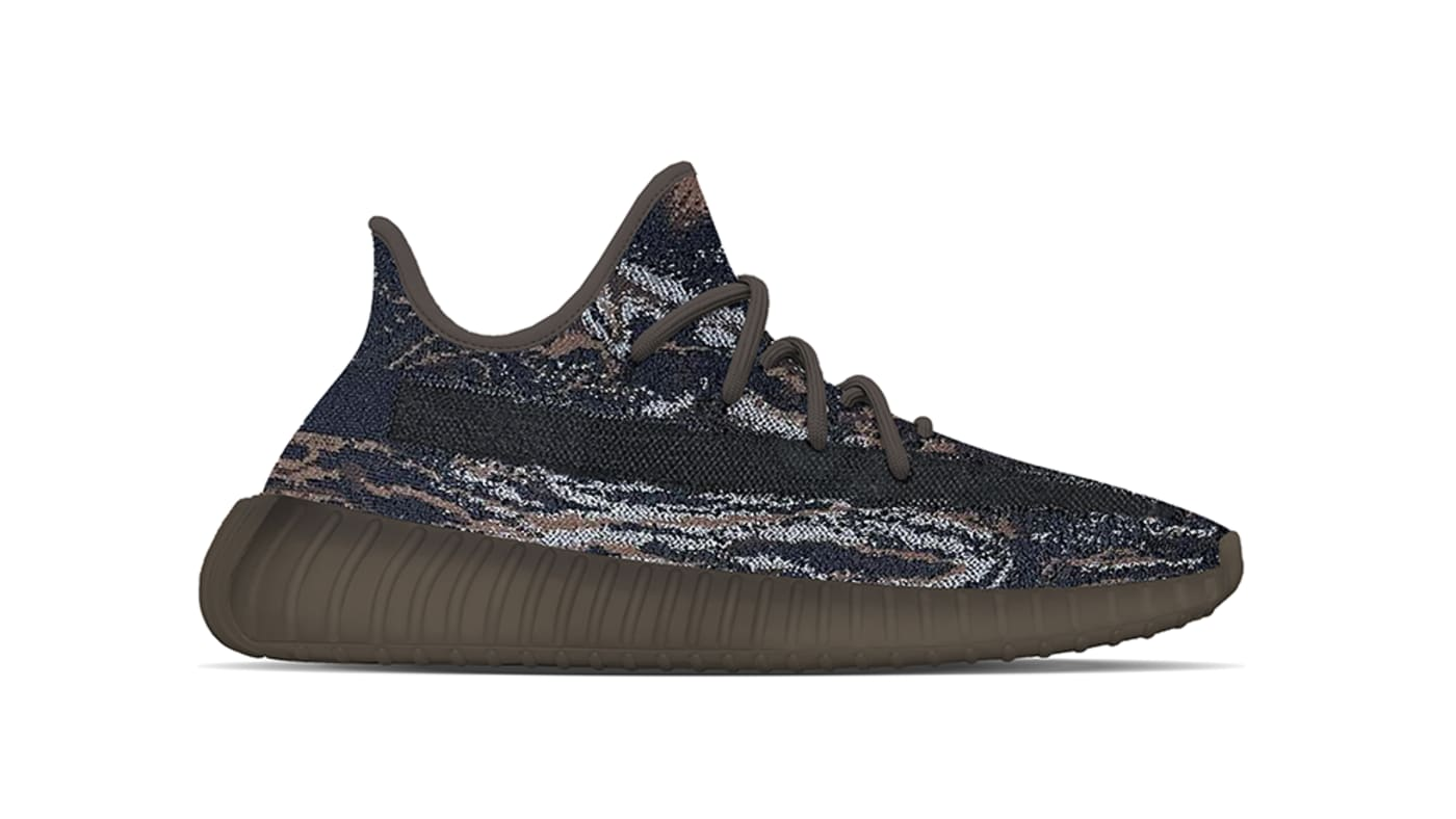 Adidas Yeezy Boost 350 V2 'Mx Rock' lateral