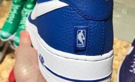 Nike Air Force 1 Low Statement Game NBA Logos Heel