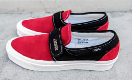 Fear of God Vans Style 147 Red Black