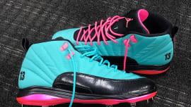 huge discount 1b618 f1bbb MLB s Jordan Athletes Receive Custom Air Jordan 12 Cleats for Players  Weekend