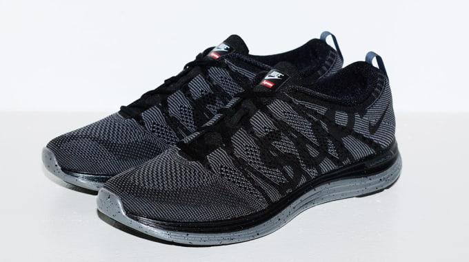 Supreme x Nike Flyknit Lunar 1