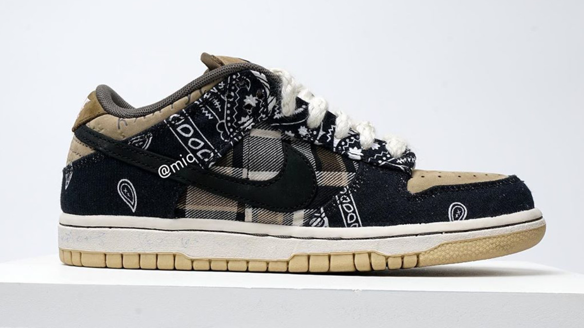 Travis Scott's Nike SB Dunk Collab Is Releasing Today With Exclusive Packaging