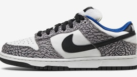buy popular ee0e8 b40ef Supreme Nike SB Dunk Low White Cement