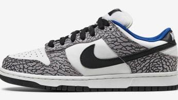 Supreme Nike SB Dunk Low White Cement