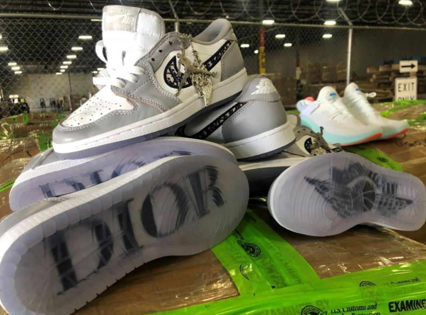 Fake Dior x Air Jordans
