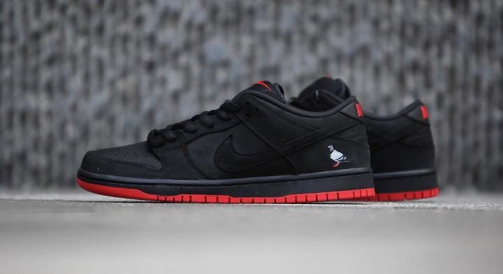 57b2445bcb Nike SB Dunk Low Black Pigeon Release Date 88323-008 (7)